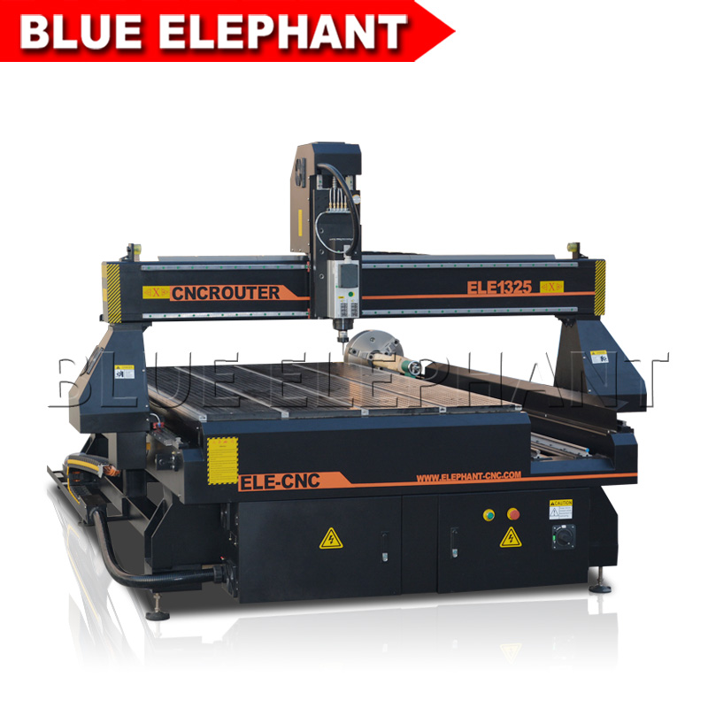 3d Cnc Wood Milling Machine / 4 Axis Cnc Router Price / Sculpture Wood Carving Cnc Machine