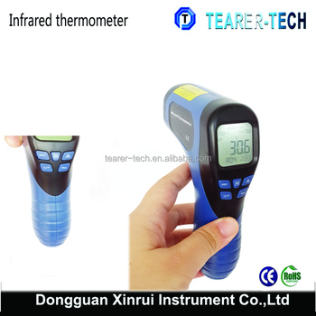 Factory high temperature infrared thermometers -30~750C non-contact gun type with large LCD display TL-IR750