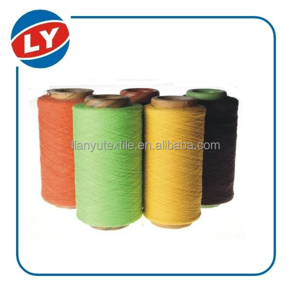market price cotton boucle yarn for knitting towel yarn