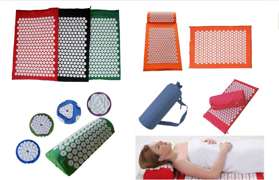 Massage Pain Relief Nail Yoga Massage Foot Mat And Pillow