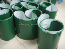 5mm thickness food grade quality guaranteed PVC conveyor belt