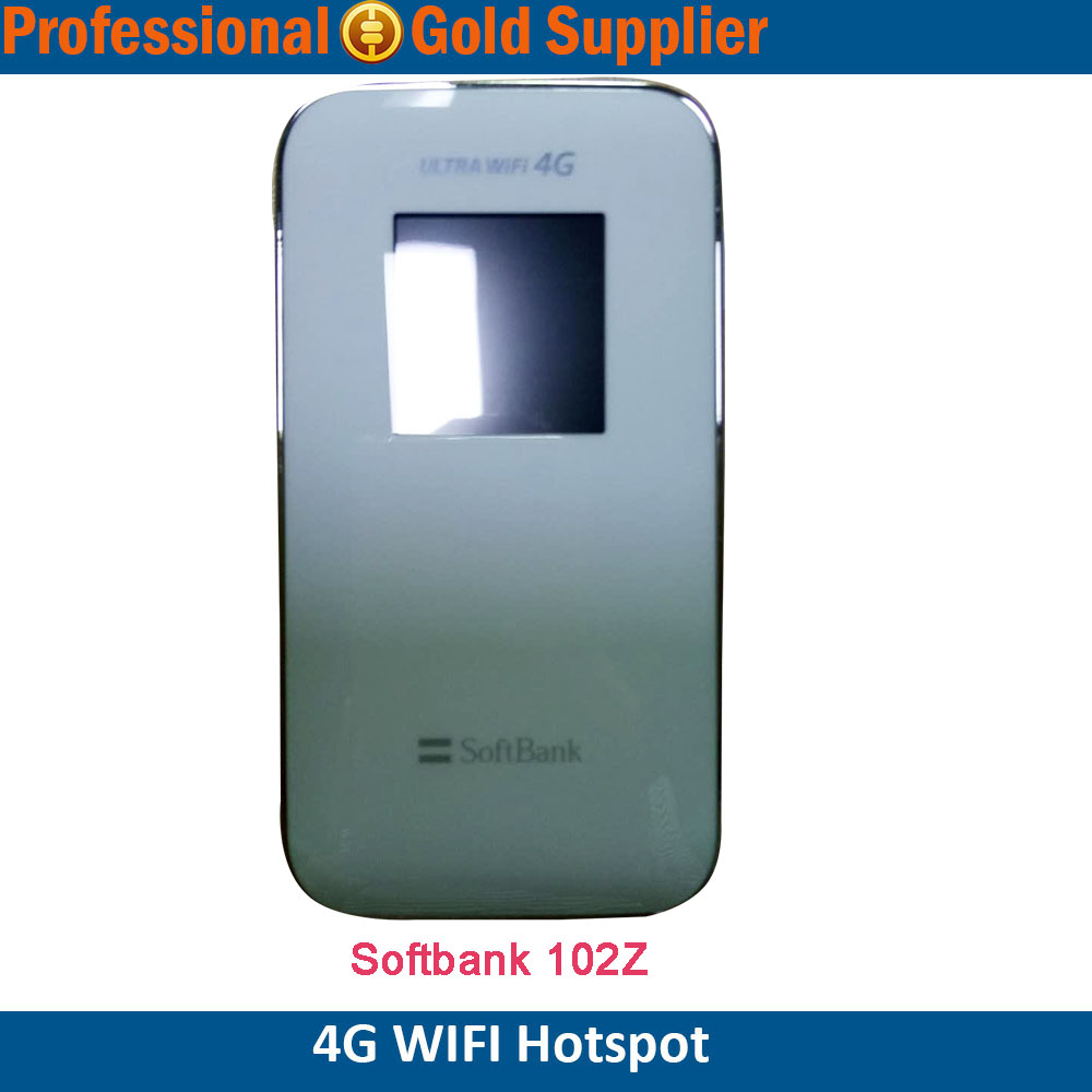 Unlocked Zte Wifi 4g Router Softbank 102z Lte Mobile Wifi Hotspot 3g Wcdma  - Buy Zte Wifi 4g Router Softbank 102,Zte Softbank Router,Mobile Wifi