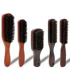 FQ brand boar hair bristle wooden beard brush with handle