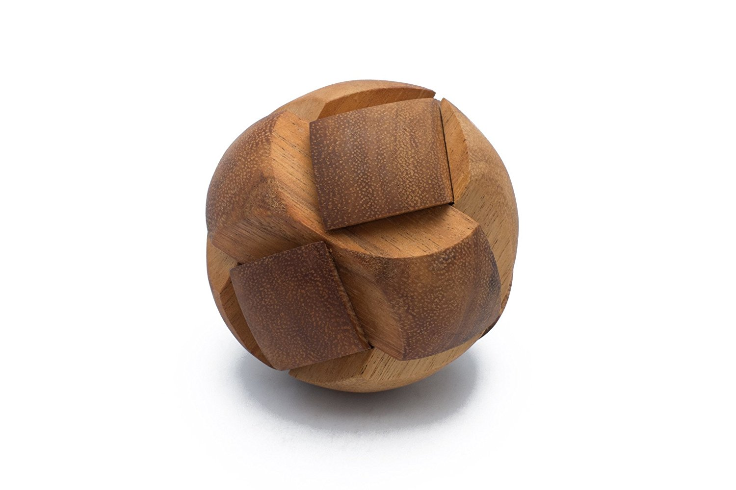 SiamMandalay: 3D Brain Teaser: Pulsar - Wooden Interlocking Mechanical Puzzle &