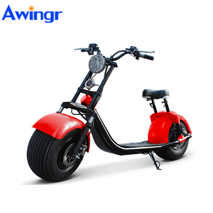 Most fashion e-scooter 1000w 12ah electric fat tire scooter factory supply
