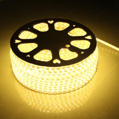 High lumen 2800K-3300K warm white 120leds epistar chips 220v waterproof flexible led strip light for clothes recargabel chip