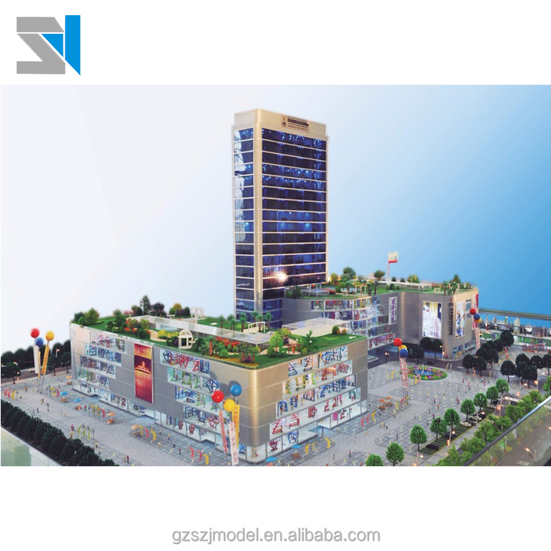 Wide varieties real estate 3d model architectural ,miniature scale model