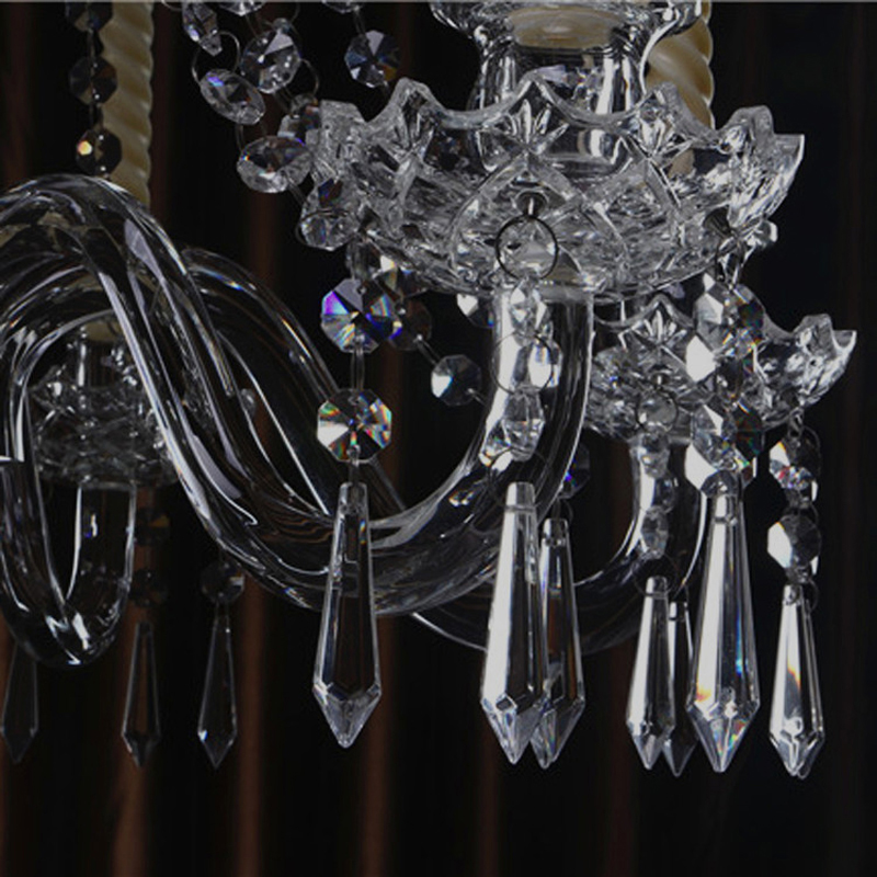 Wedding Party Event Beautiful Crystal Candle Holder