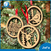 Laser Cut Personalized 2017 Christmas Ornaments For Wood Hang Deco