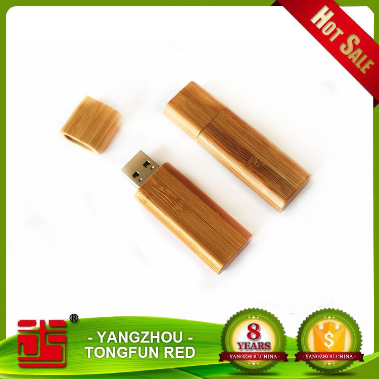 2016 Hot Sales Bamboo Wood Swivel 3.0 Usb Flash Drive