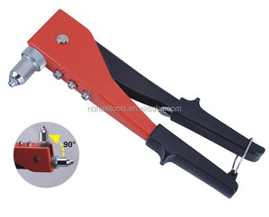 Hand riveter 250mm(10'') bidirectional u.s.a style Aluminium riveter