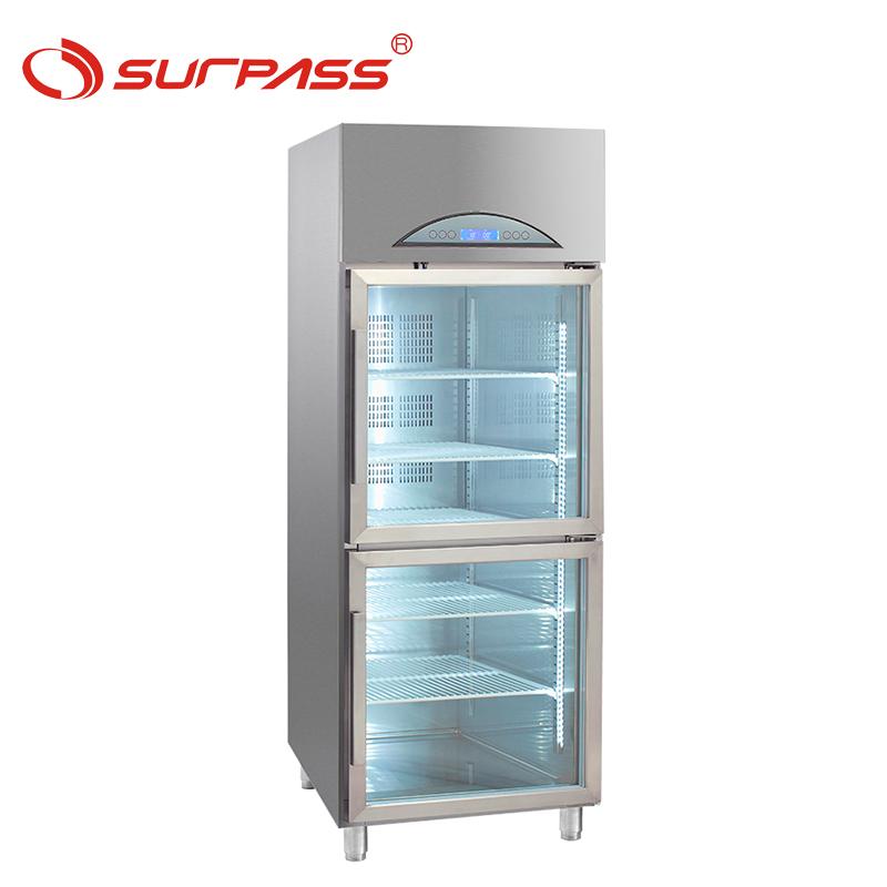 Surpass Commercial Glass Door Fridge Upright Refrigerated Display