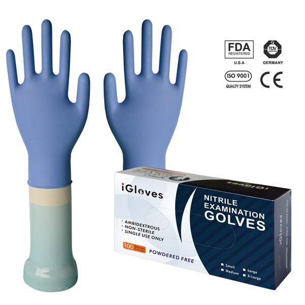 Esd conductive nitrile gloves