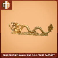 polyresin Chinese dragon statue for outdoor decoration