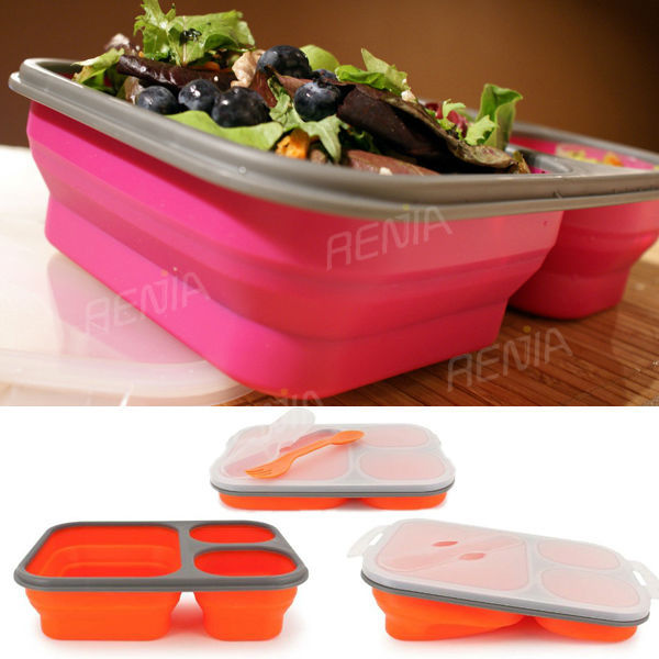 Collapsible Food Storage ContainersCollapsible Silicone Food