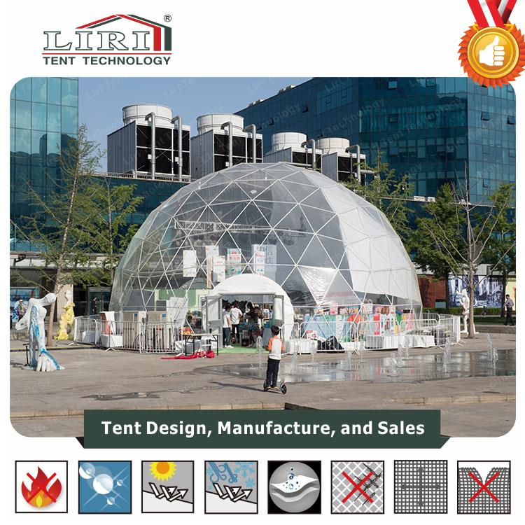 14m half sphere tent for bookstore(6)