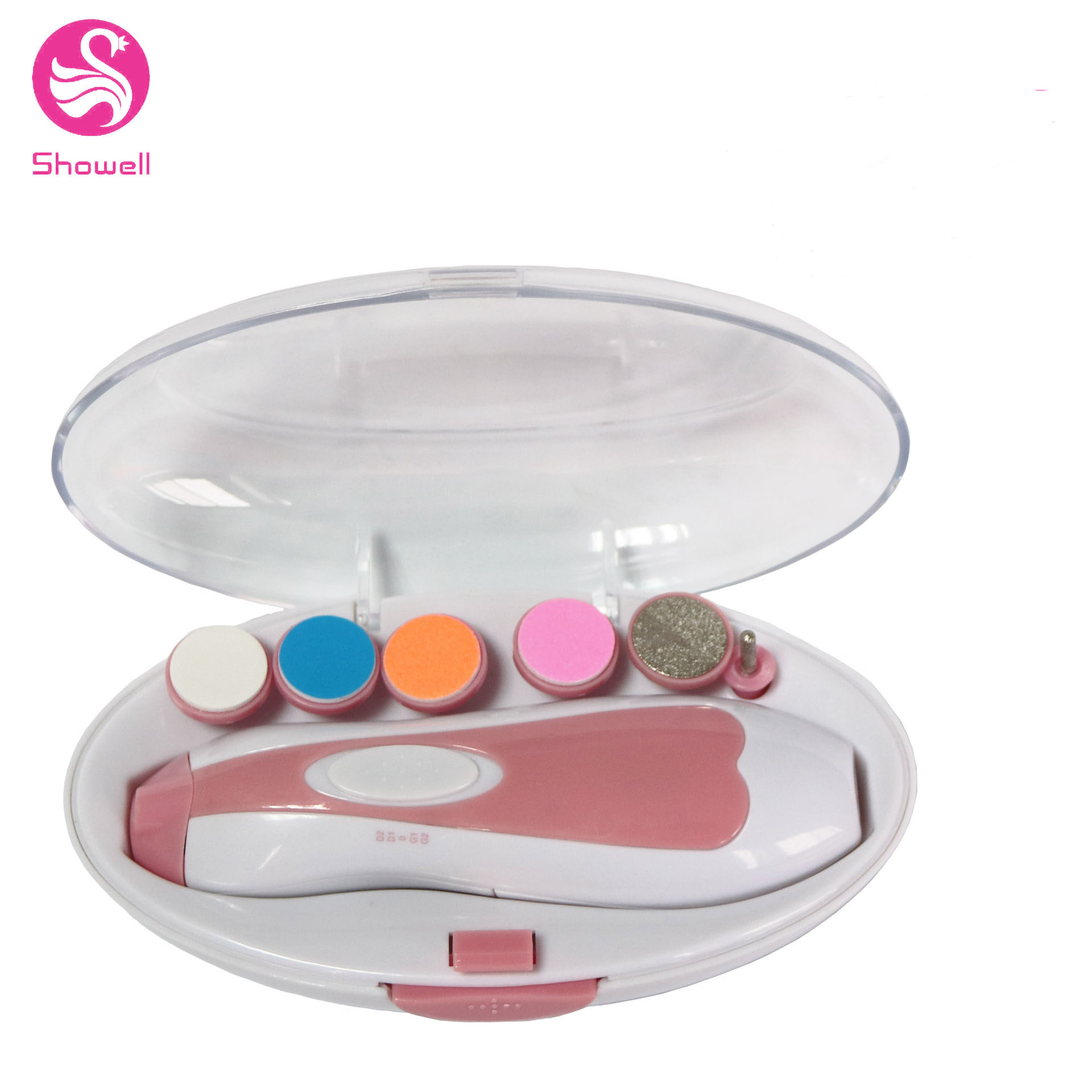 2020 Good Quality Professional Portable OEM Electric Baby Nail Trimmer with LED Light