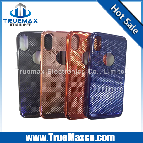Hotsale heat dissipation case for iphone 8,TPU phone case for iphone 8, good quality phone cover case for iphone 8