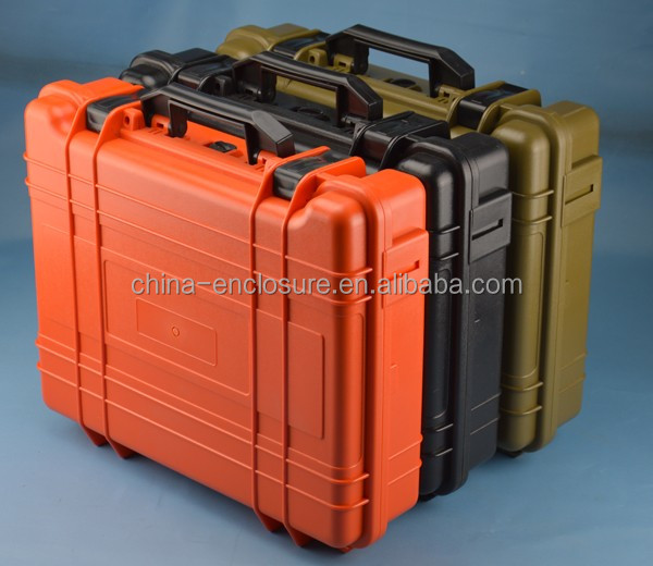 Plastic equipment case/safety case