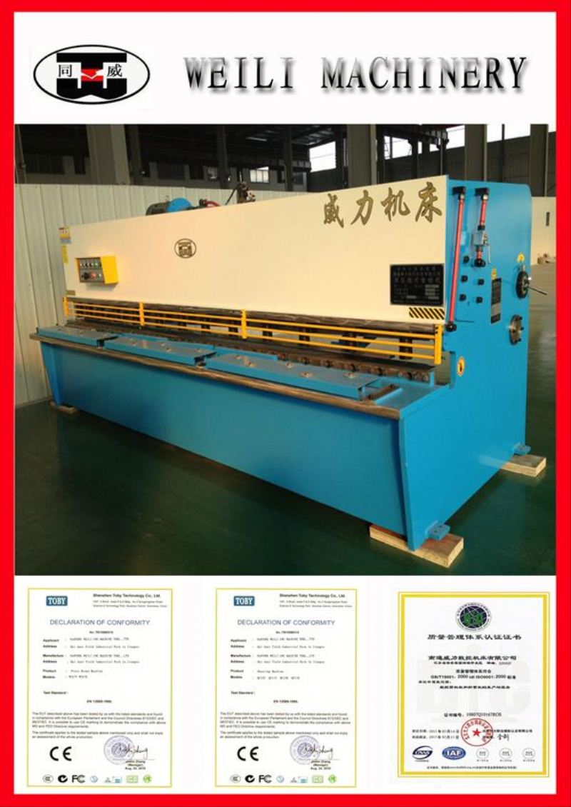2014 Top Quality Guillotine Design Advanced 63ton to 500 ton cutting force hydraulic scrap shears machine