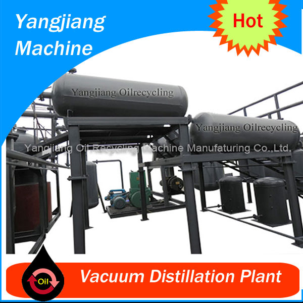 Dark Motor Oil Vaccum Distillation Plant YJ-TY-28