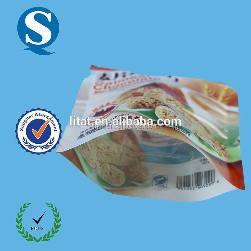 plastic cat food bag pouch packing