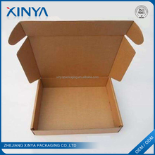 XINYA Buy China Products Custom Printed Foldable Rigid Brown Paper Shipping Box For Gift