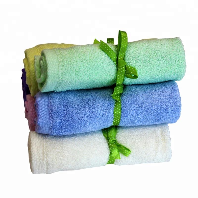 100% Natural Organic Soft Bamboo Washcloths 10