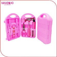 MAXECHO Household Hand Tools, Pink Tool Set with a Balanced Fit for Woman's Hands. As tough as men's tools...for Lady DIYer's an