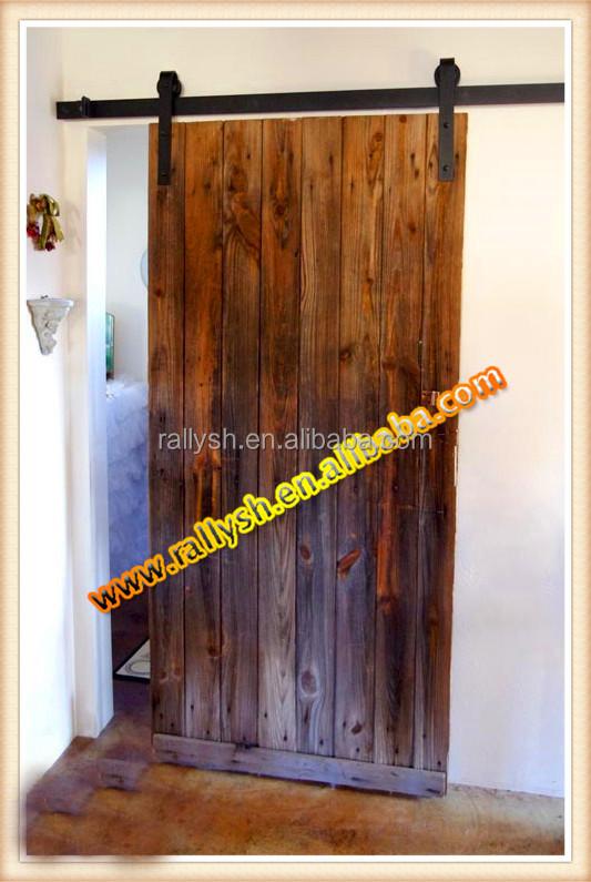 Barn Doors Hardware Sets With Roller,Track,Stop,Floor ...
