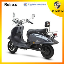 Euro IV gasoline and electric scooter with Removable Lithium battery supplier