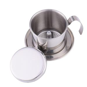 Portable Stainless Steel Vietnam Coffee Dripper Filter Coffee Maker High Quality Drip Coffee Filter Pot Filters Tools