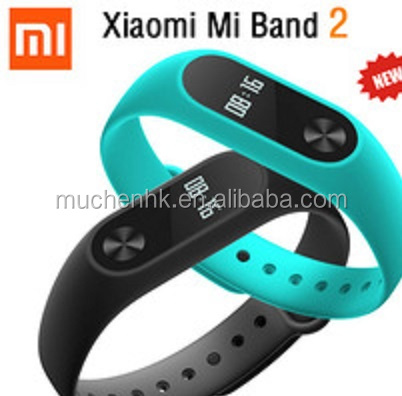 Xiaomi Mi Band 2 Smart Wristband IP67 Heart Rate Monitor Fitness Xiaomi Miband 2