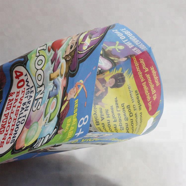 Three Side Seal Special Shape Packaging Sugar Bag