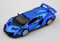 Best quality Supercar poison king 1 32 alloy model Pull Back Toy car Blue Diecasts toys