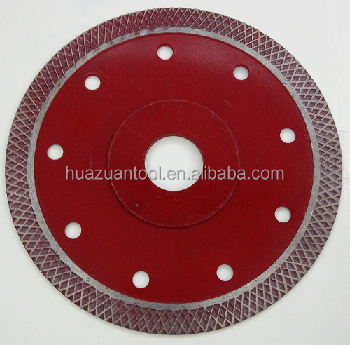 wholesale 110mm cold press sintered diamond saw blade manual cutter for tile/ceramic