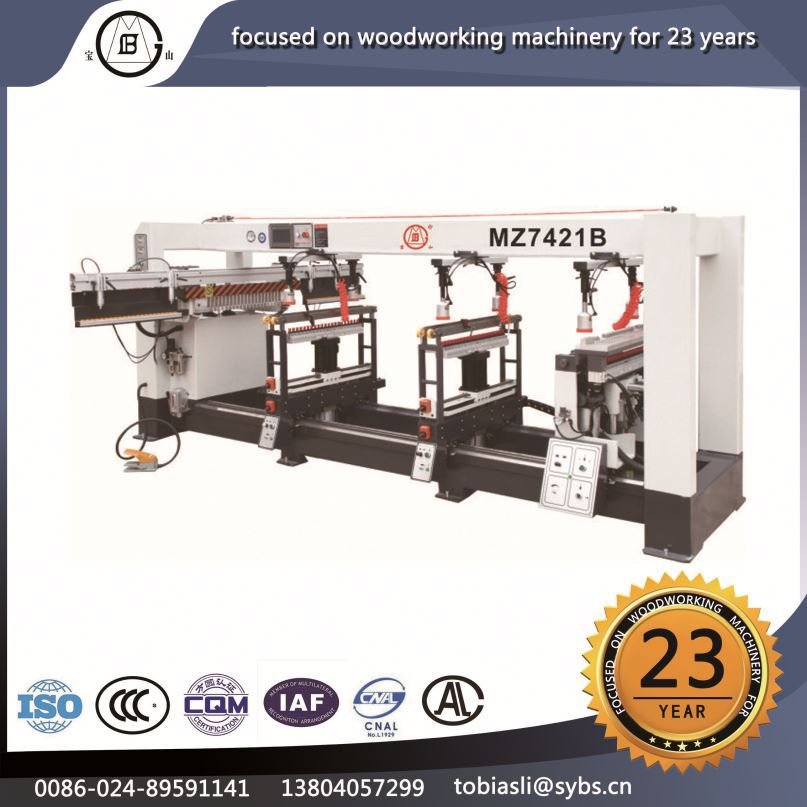MZ-7421B New style high precision density boards multifunction Multi axis wood-based panels horizontal boring machine used