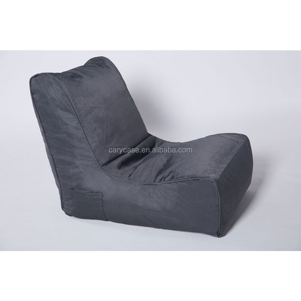 Fatboy Zitzak Xl.Premium Sofa Weave Side Pocket Outdoor Bean Bag Chair Grey