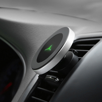 Magnetic Phone Car Charger Holder Wireless Charger for iPhone XR XS MAX