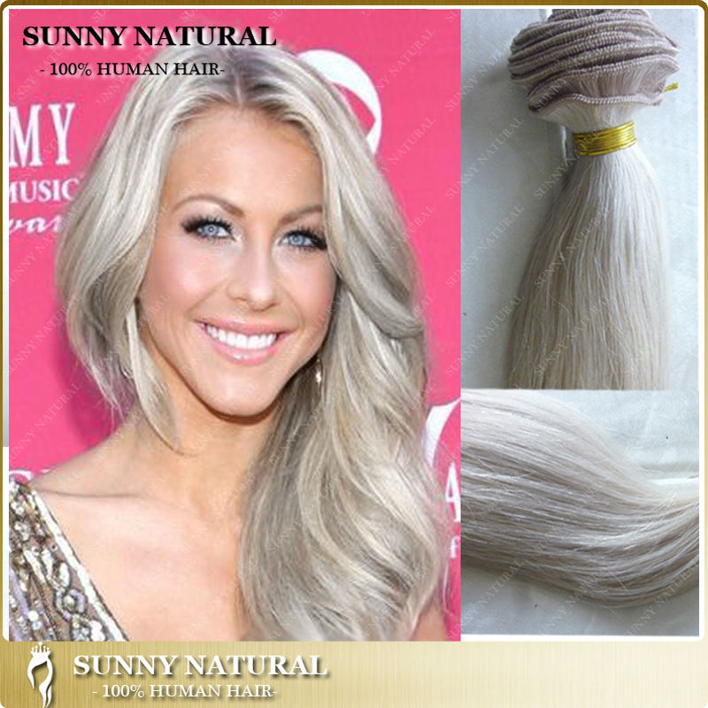 Light silver grey hair bundles silky straight virgin brazilian light silver grey hair bundles silky straight virgin brazilian hair extensions silver gray 100 real pmusecretfo Images
