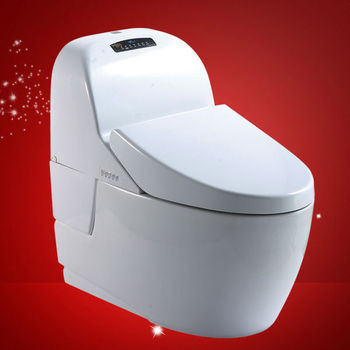 5star hotel quality standard p trap 180mm toilets with built in bidet buy toilets with built - Toilet with bidet built in ...