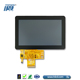 WVGA 800x480 resolution 5 inch lcd monitor touch screen with Anti Glare coating for outdoor application