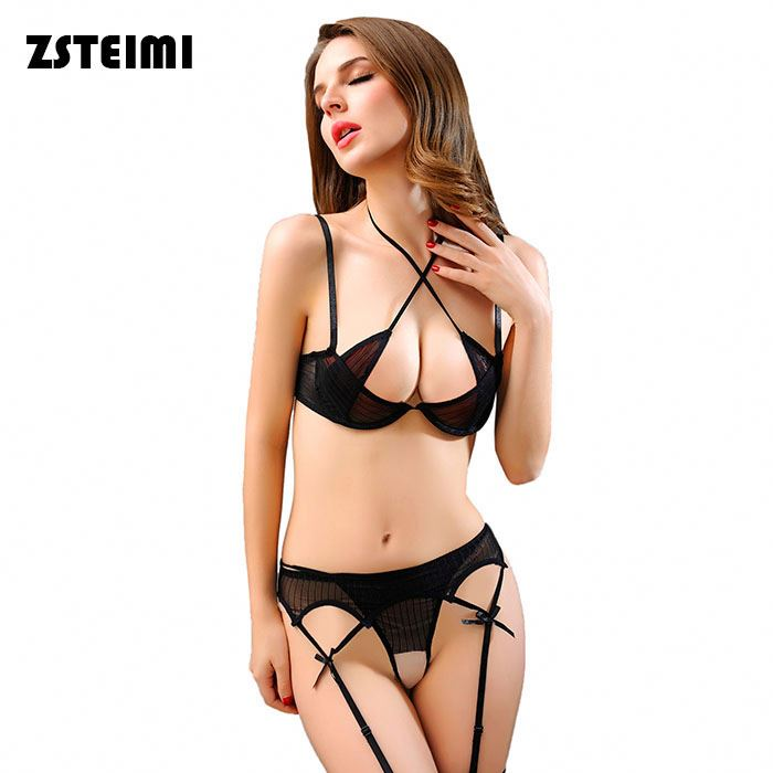 SM Tie Up Lady Lingerie With G-string