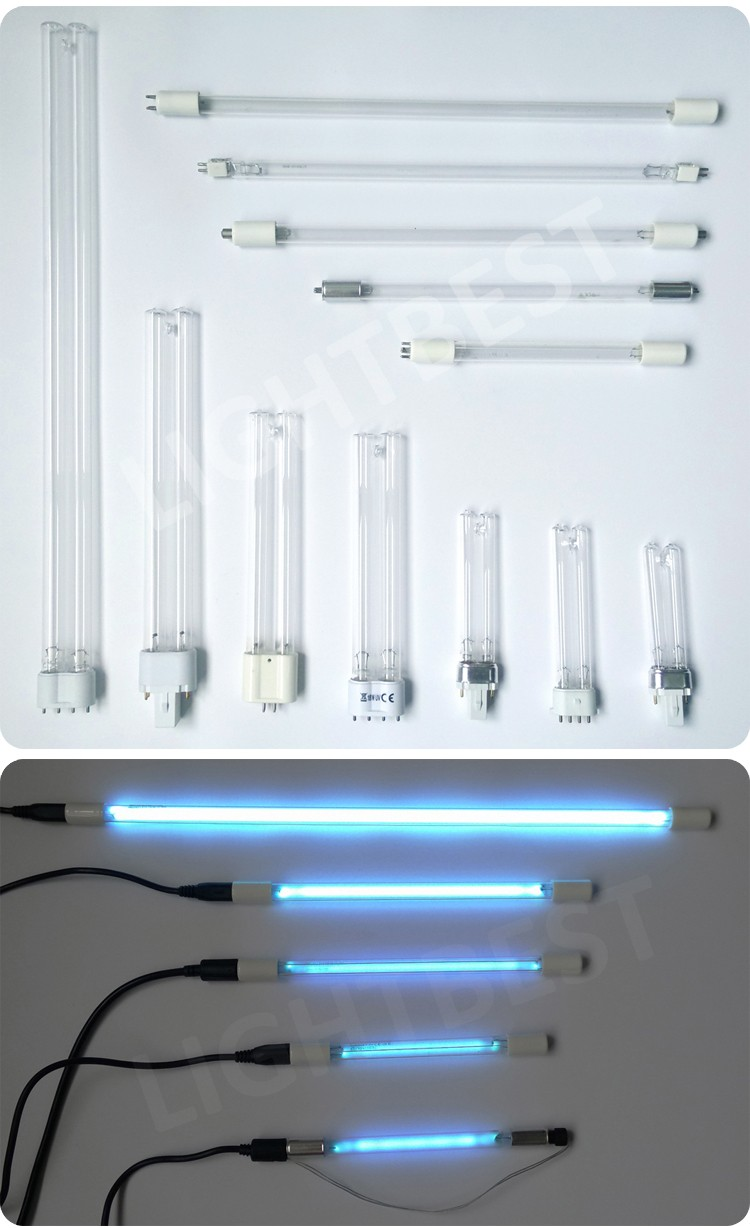 254nm UV Bactericidal Lamp Replace 9w 4P PL UVC Sterilamp bulb tube