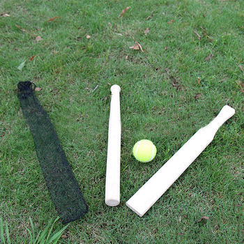 Personalized Cricket Wooden Toys Baseball Bat With Tennis Ball Buy