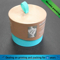 cardboard paper canister for coffee container