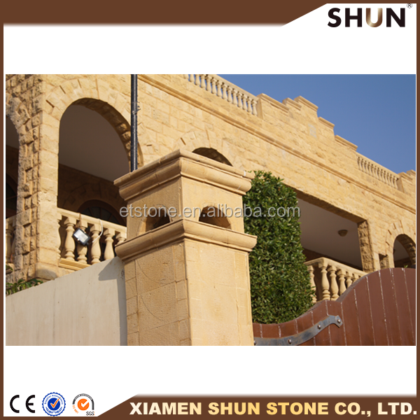 Cheap Natural Yellow Sandstone