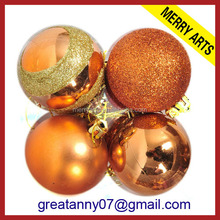factory price cute christmas tree decorations custom branded ball ornaments