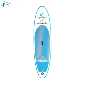 "Fissot CE certificated 10'6""*31""*5"" inflatable sup paddle board manufacturer"