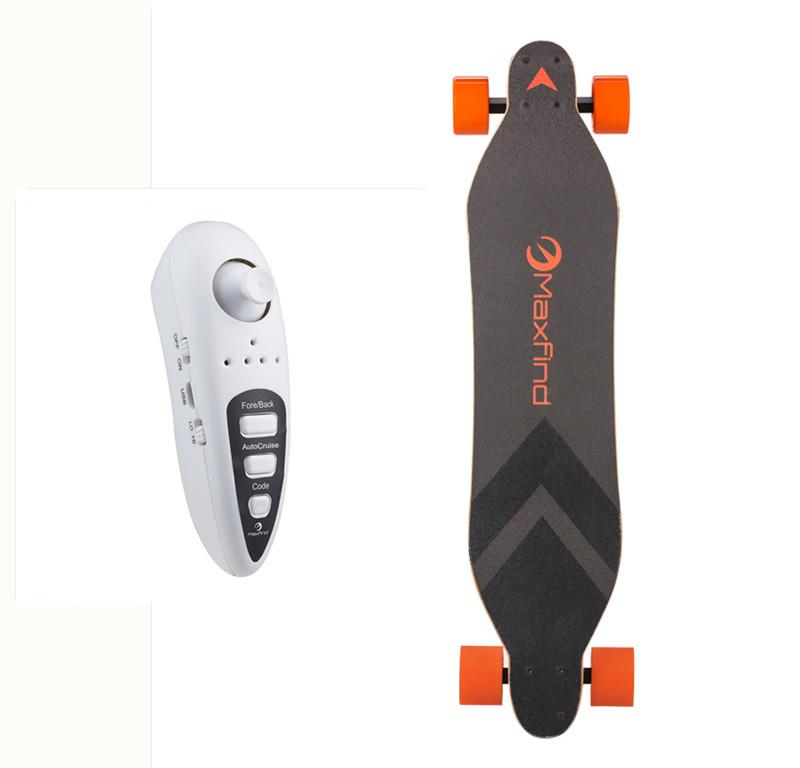 Hot Sale MAXFIND Max A Electric skateboard Four-wheel single drive Remote longboard IP65 waterproof